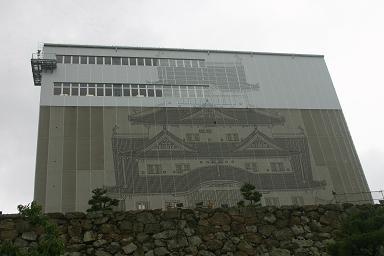 絵に描いた姫路城